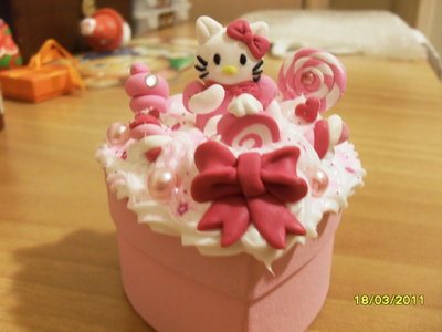 Scatola dolciosa kitty