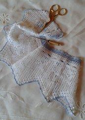 Pizzo bordo merletto crochet  handmade Italy artigianato Friuli Venezia Giulia