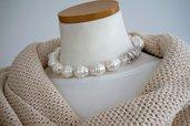 collana grosse perle bianche di mariorca