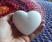 Stampo in gesso per disegni cuore