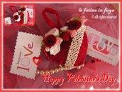 Cuore di san Valentino con Rose