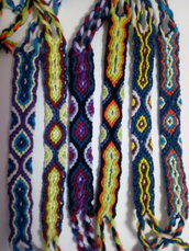 Braccialetti portafortuna colorati