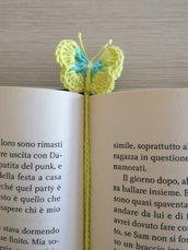 Segnalibro a farfalla