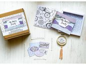 Kit creativo fai da te artigianale Album di famiglia/ Album di ricordi _ Happy Box_ My Happy Family_ SPECIAL EDITION con acchiappasogni