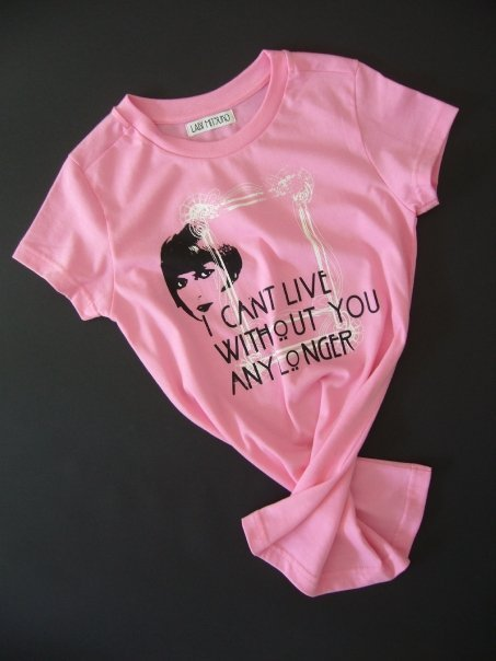I can't live Tees