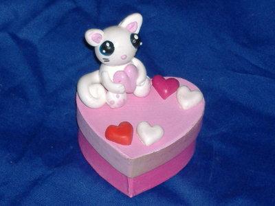 scatolina cuore scoiattolo