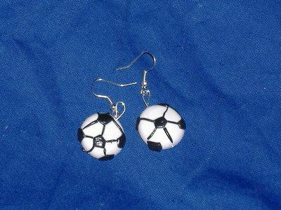 orecchini pallone calcio