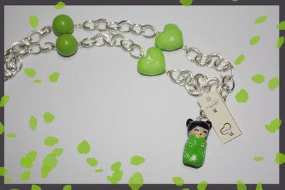 SALDI - Kokeshi verde