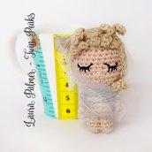 Twin Peaks amigurumi bambola Laura Palmer portachiavi pupazzo uncinetto