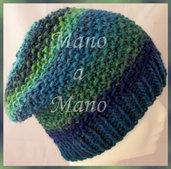Cuffia - Blu verdeacqua azzurro