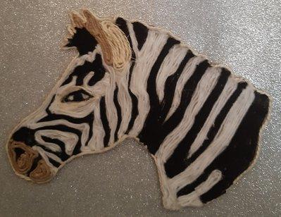 Quadro 3D - Zebra