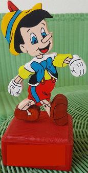 Statuetta Pinocchio colorato
