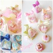 Scatolina biscotto decorato - biscotti decorati - nascita - battesimo - bomboniere battesimo - segnaposto battesimo - battesimo economico