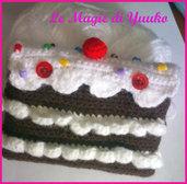 Custodia a forma di torta