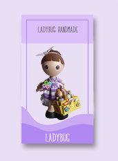 Tutorial PDF Fofucha Ladybug