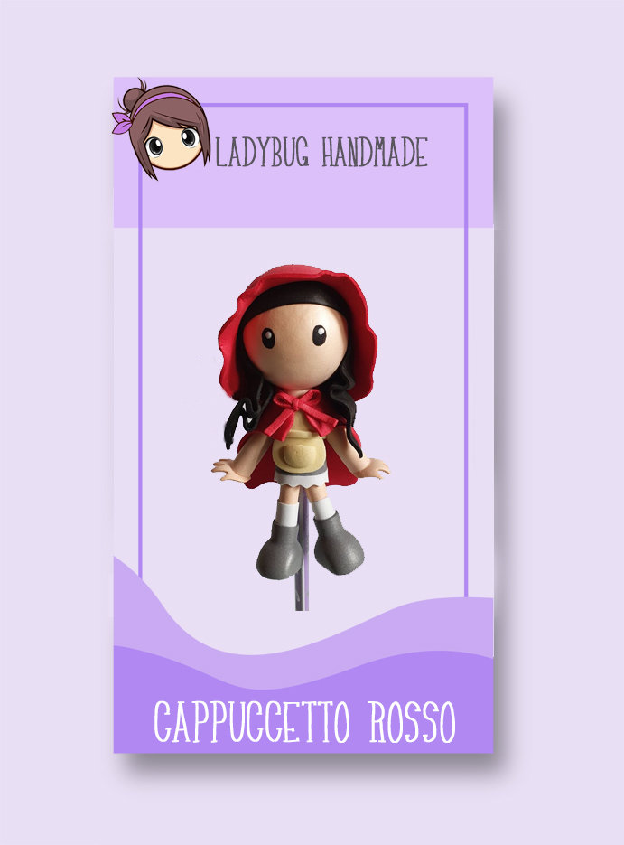 Tutorial PDF Fofucha Cappuccetto rosso