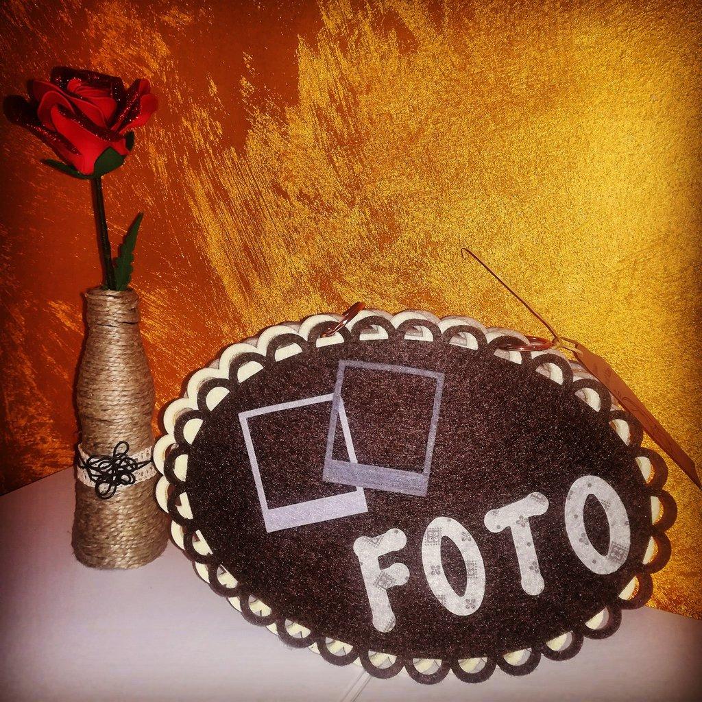 Album portafoto feltro