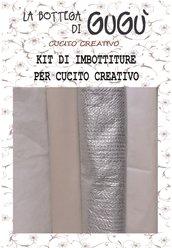 PREORDINE Kit di imbottiture per cucito creativo