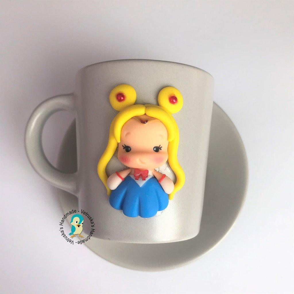 Set tazzina con piattino da caffè
