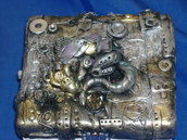 scatola drago steampunk