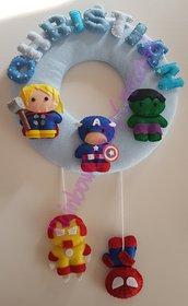 Fiocco nascita super eroi