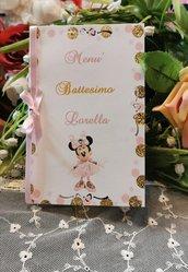 Menù Battesimo Minnie Ballerina