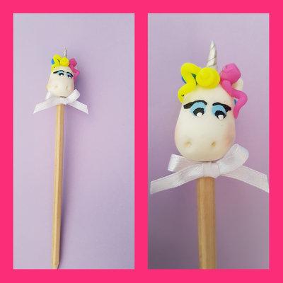 Matita decorazione unicorno