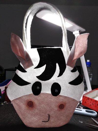 Borsetta Zebra per bambina