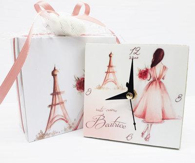 Bomboniera orologio ballerina comunione cresima compleanno nascita personalizzata