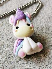 Collana unicorno kawaii