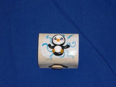 scatolina pinguino