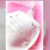 Mascherina  da sposa  elegante