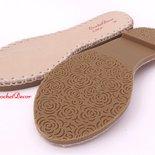 Suola linca per sandali e scarpe uncinetto n 36 (23,9 cm)