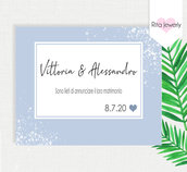 inviti matrimonio,  Invitation Wedditing, Party Invitation,  Invito digitale matrimonio, Festa tema,  Invito digitale Battesimo,