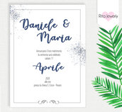 Partecipazioni invito matrimonio - INVITI MATRIMONIO, coordinato inviti nozze / matrimonio