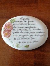 Targa o piastra con preghiera della serenità
