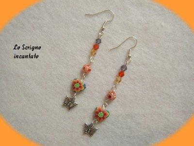 Orecchini multicolor