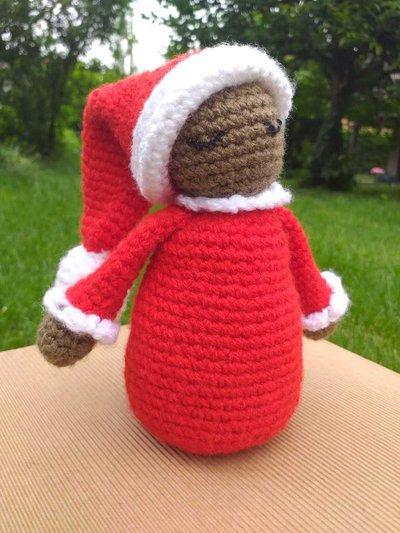 Babbo Natale decorazione natalizia amigurumi - YouTube ... | 533x400