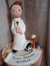 Cake Topper comunione- calcio