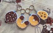 Set portachiavi biscotti