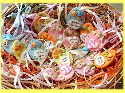 Uova pasquali- Auguri Buona Pasqua