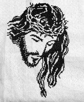 Quadro Gesù Monocolore
