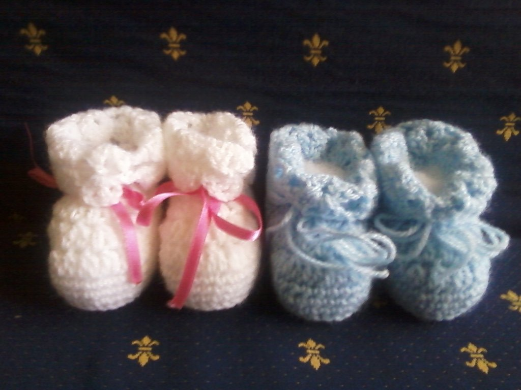 Coppia di scarpette