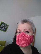 Mascherina facciale cotone