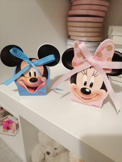 Scatoline Minnie e topolino