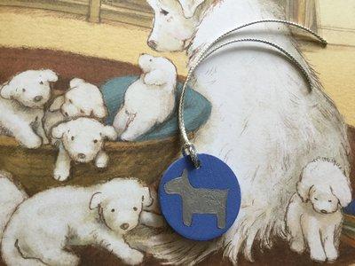 Ciondolo in legno per collare cane