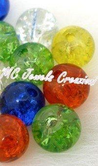perle crackle (effetto vetro rotto)