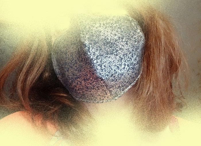 Mascherina viso con tasca per filtro, mascherina facciale con elastici, mascherina triplo strato cotone, lurex