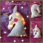 Cuscino luminoso unicorno