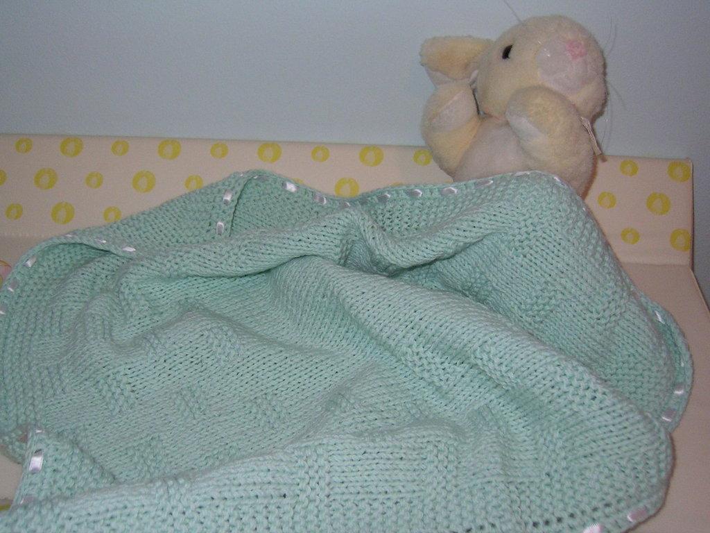 copertina lana lavorata a mano